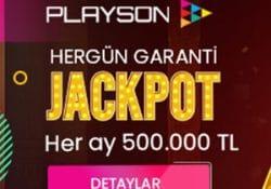 Tipobet her gün garanti jackpot veriyor