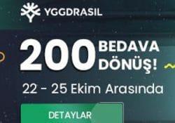 Tipobet sitesinde 200 Free Spin sizlerle